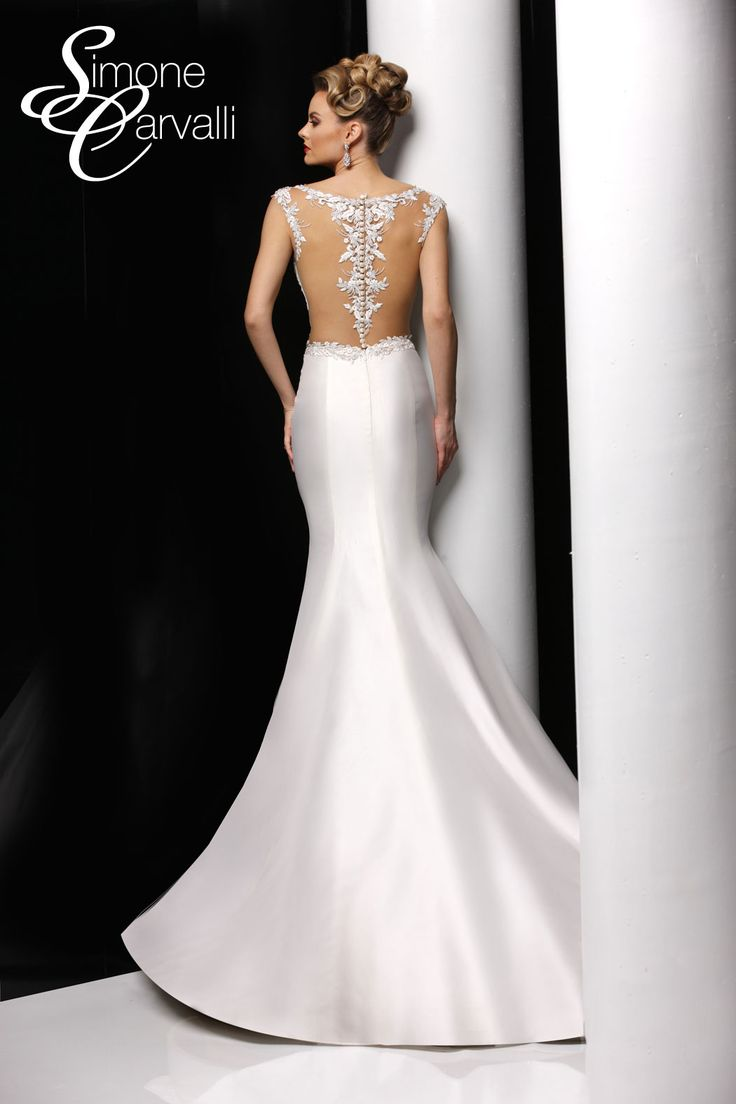 17 Best Images About Illusion Back Wedding Dresses On