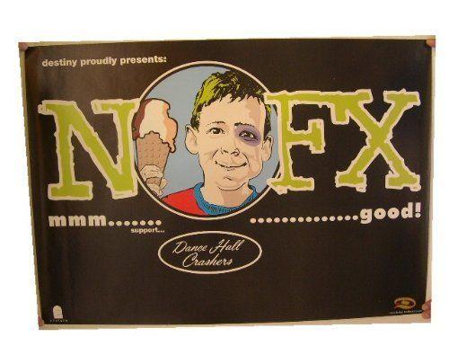 NOFX Poster Concert Tour N O F X N.O.F.X.