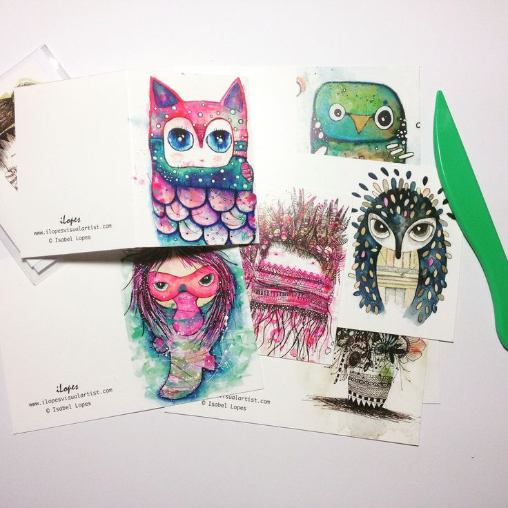 handcrafted magnets by artist Isabel Lopes, from iLopesvisualartist