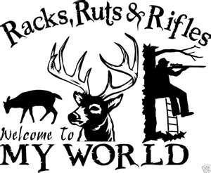 Love deer hunting with my guys!!
