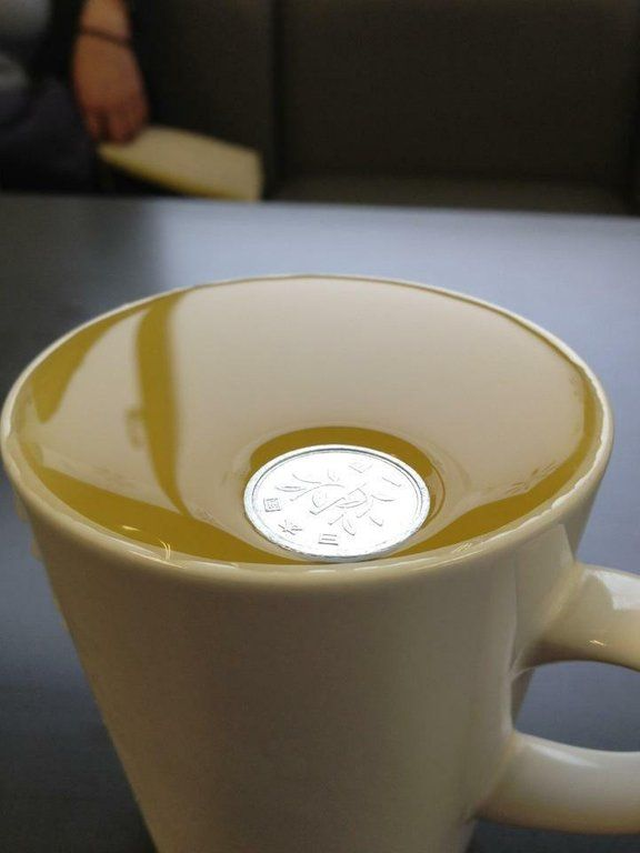 How Many Drops Of Water Fit On A Penny A Surface Tension Experiment Experiments Surface Tension Water Experiments