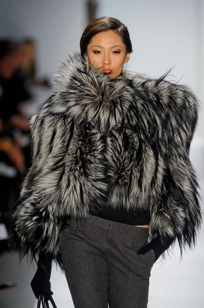 i died and came back to life whew   Dennis Basso Fall 2011