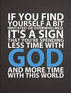 Spend more time with God