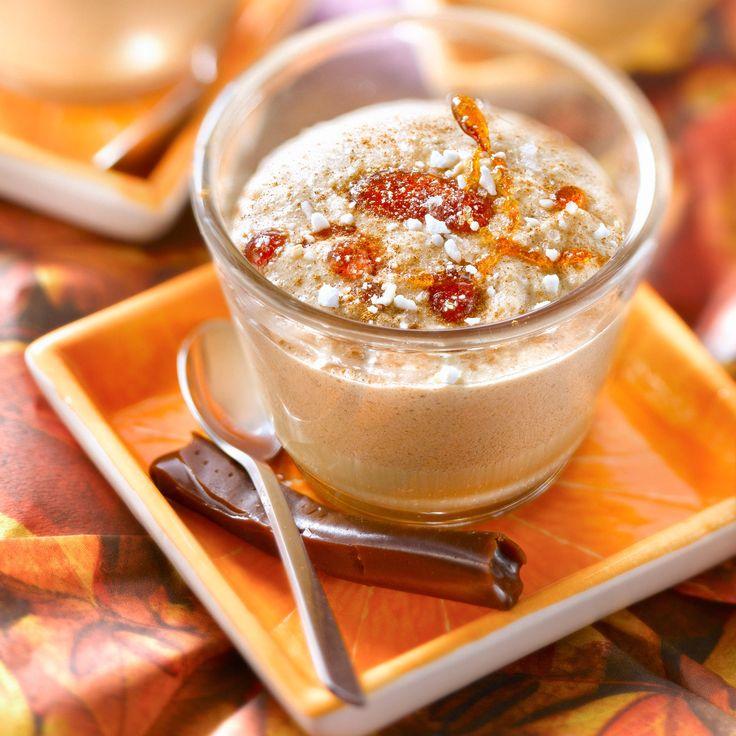 Découvrez la recette de la mousse aux Carambar sans oeufs