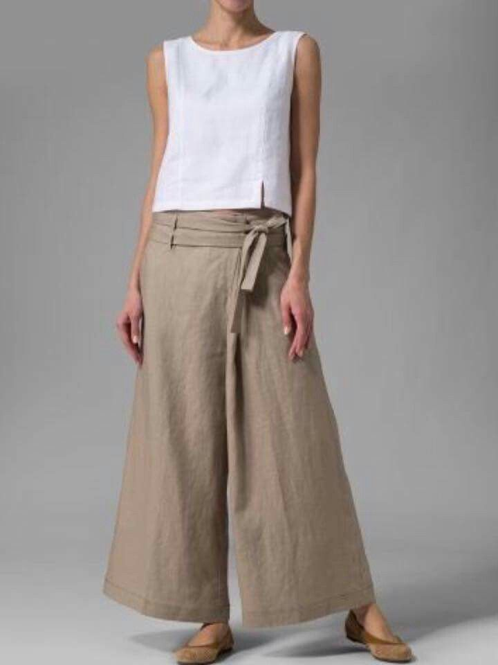 Great linen clothing.