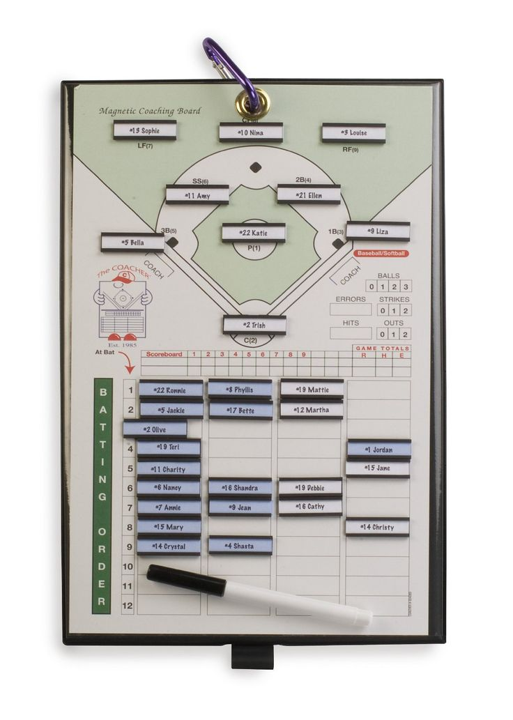 amazon com  athletic specialties coacher magnetic baseball