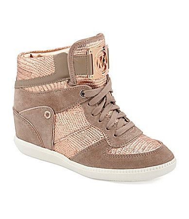 Michael Michael Kors Nikko II High-Top Sneakers  I HAVE TO HAVE THESE!!!!!!