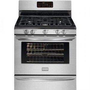 #9: Frigidaire FGGF3054MF Gallery 30 Freestanding Gas Range - Stainless Steel.