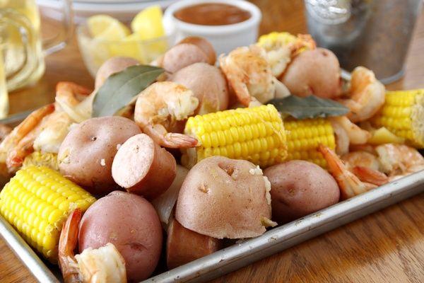シュリンプ・ボイル Shrimp Boil : A Taste of The Southern Home アメリカ南部の家庭料理