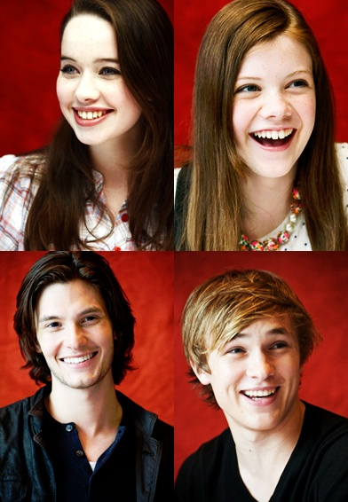 William, Anna, Georgie, and Ben :)
