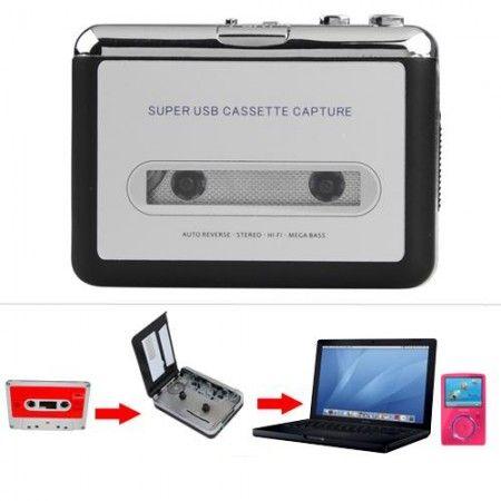LECTEUR USB TAPE CASSETTE CONVERTISSEUR EN MP3 AUDIO