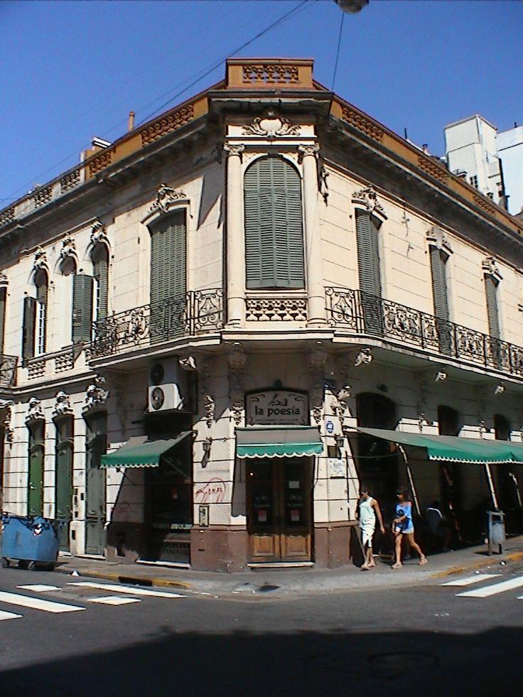Street corner 1, Buenos Aires Argentina