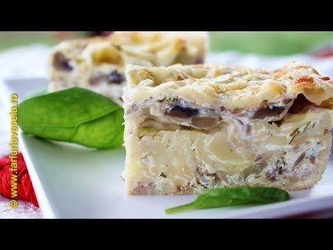 Farfuria vesela: Placinta cu ciuperci