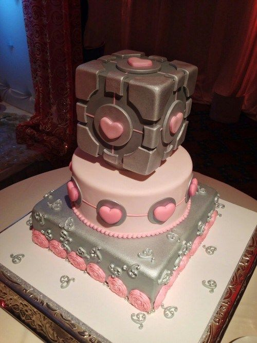 portal 2 wedding cake best 25 portal cake ideas on portal 2 portal 18697