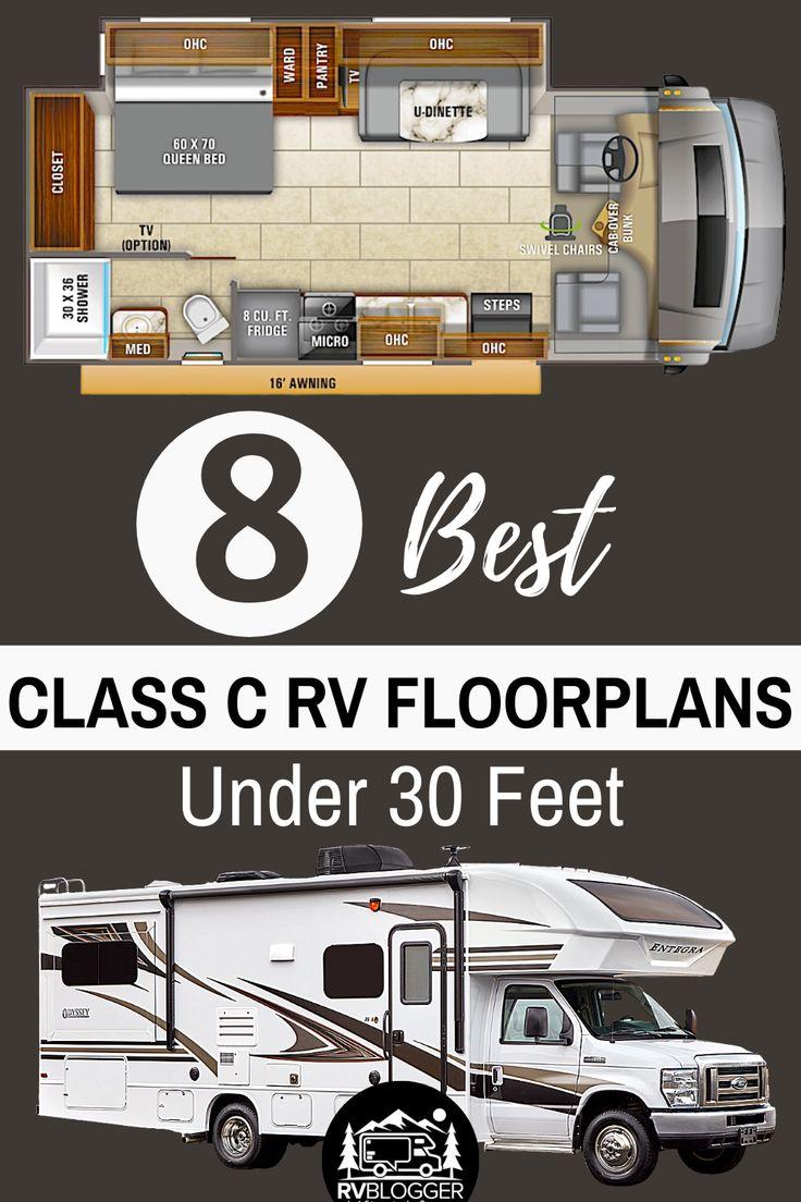 8 Best Class C RV Floorplans Under 30 Feet - RVBlogger in ...