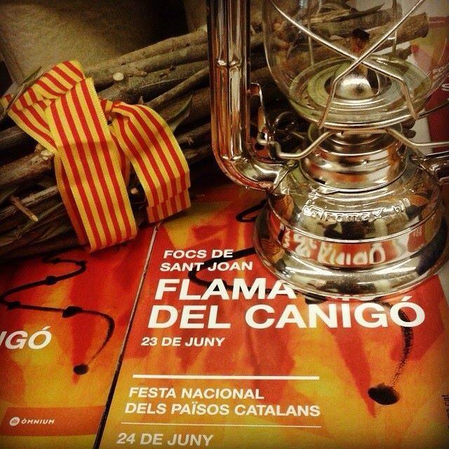 """Juny 23rd. """"La Flama del Canigó""""."""