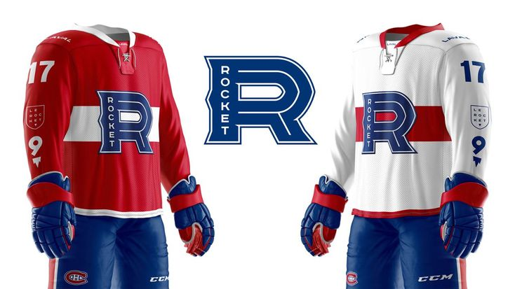 LAVAL - The Rocket de Laval -- the Montreal Canadiens' American Hockey League affiliate team starting with the 2017-2018 season