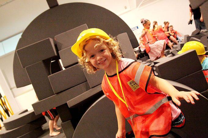 Construction Site Ipswich Art Gallery