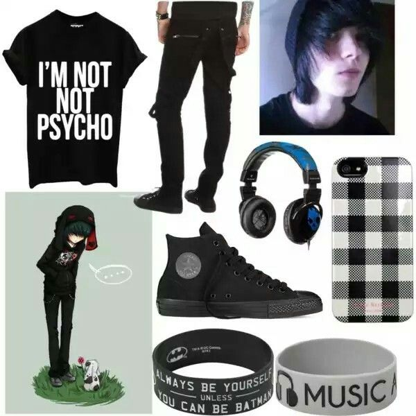 Emo Boy Outfits Polyvore