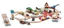 <div>Alla BRIO älskare kommer bli alldeles yra av lycka med detta underbara tågräls-set! Hitta alla dina favorit BRIO leksaker i ett set! Setet innehåller de klassiska tågen och järnvägen, flygplats, bondgård, en hamn och mycket mer! Tågsetet har både lj