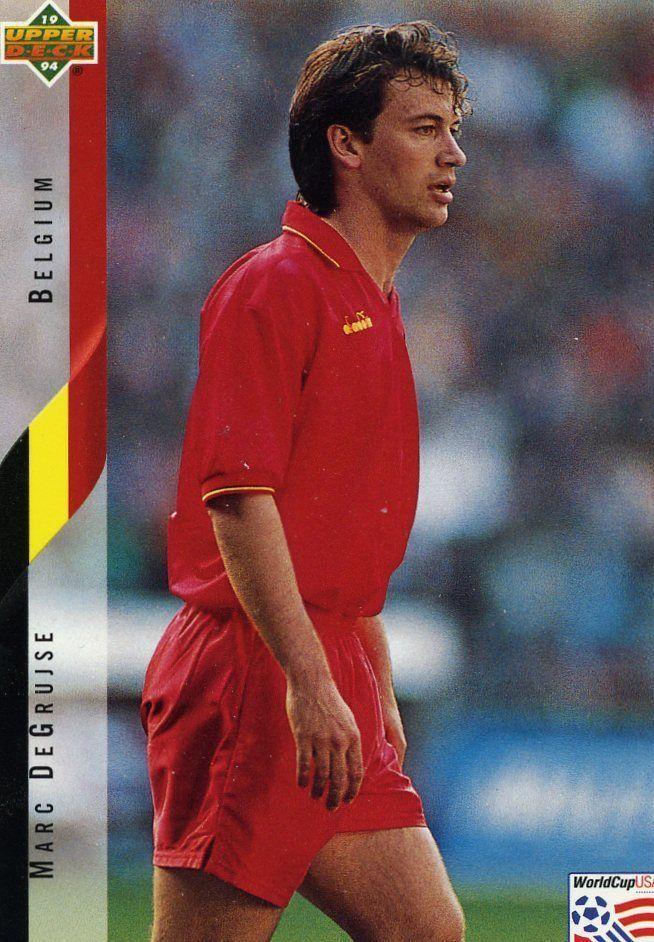 RARE 1994 UPPER DECK WORLD CUP SOCCER MARC DEGRUISE BELGIUM TEAM MINT #Belgium