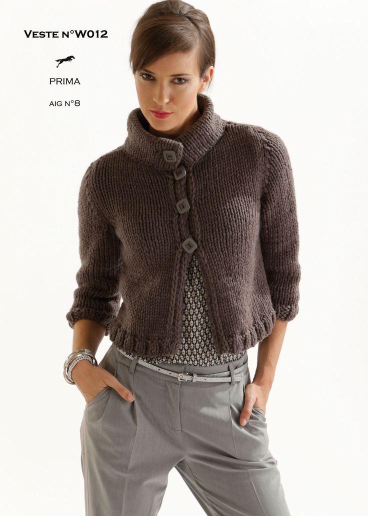 patron tricot gratuit prima