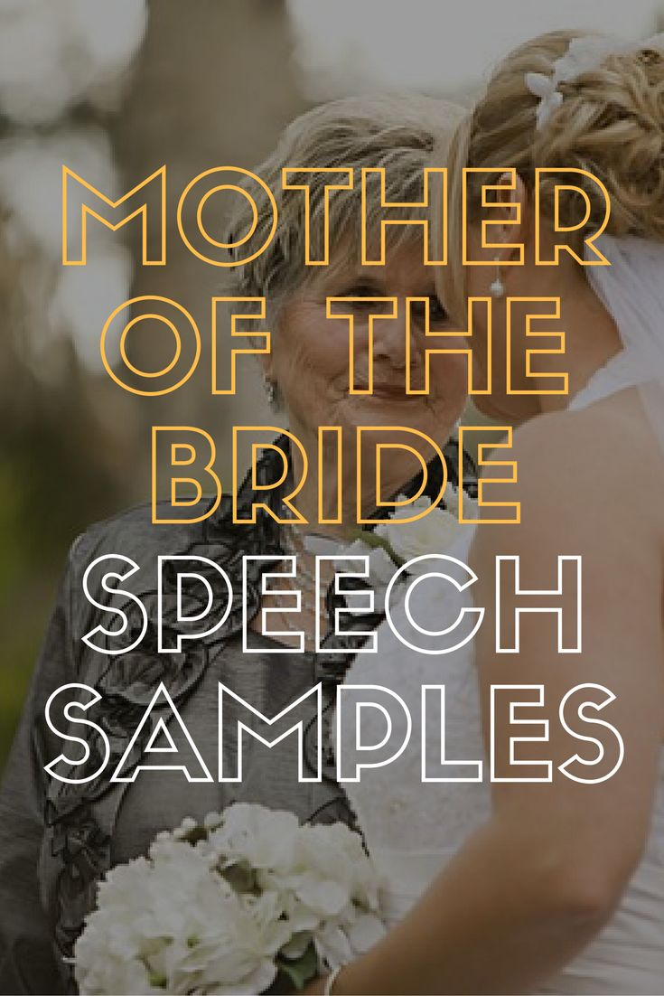 wedding ceremony wording samples%0A   Great Mother of the Bride Speech Examples