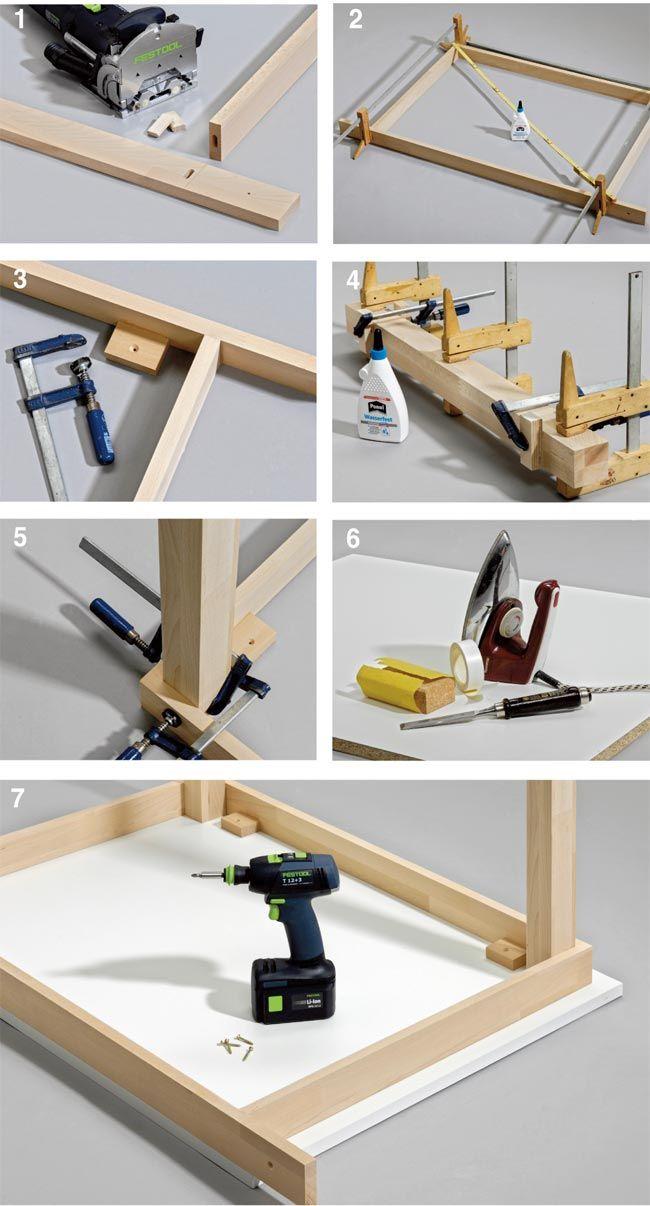 Oltre 25 fantastiche idee su costruire un letto su pinterest telaio di letto fai da te e letti - Parti di un letto ...