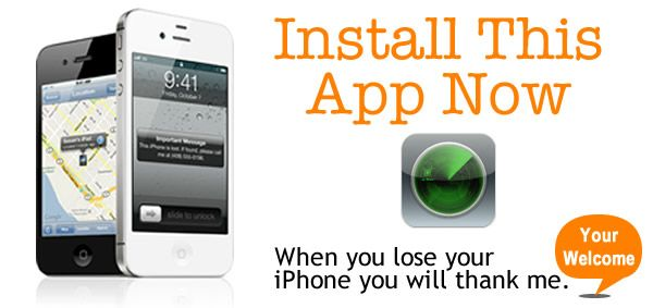 Never lose your iPhone (or iOS device) again with this app! #GEEK #APPLE #iPHONE