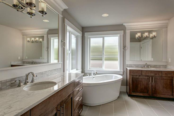 Master bedrooms bathroom found at the Astoria home in Sammamish, Washington