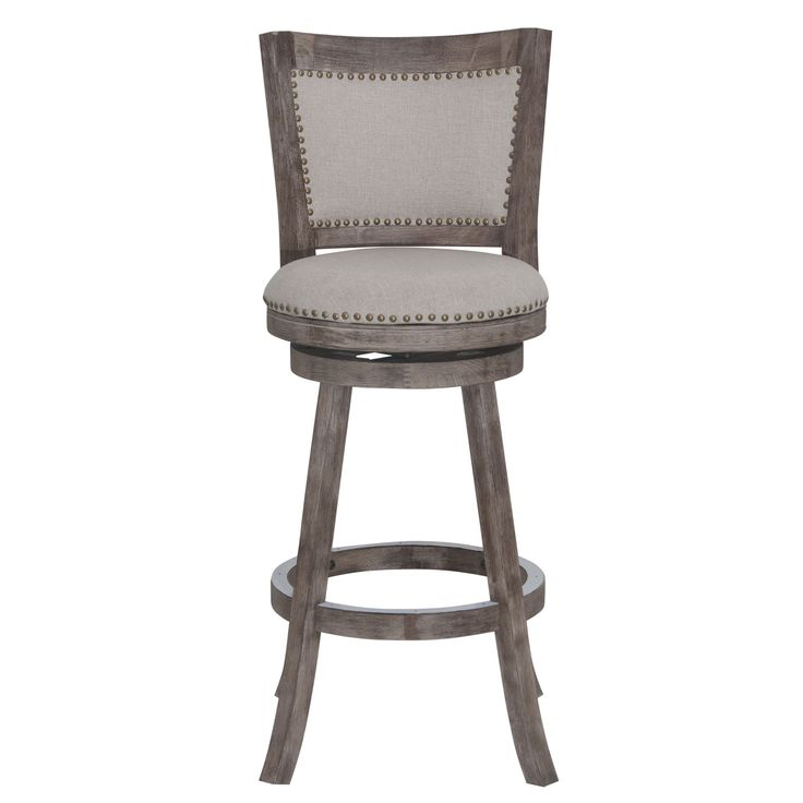 Make A Statement With The Melrose Barstool. Accentuated With The Attractive  Multistep Wire Brush