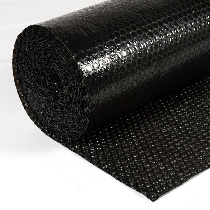 BURBUJA EMBALAR NEGRA - El plástico de burbujas es un termoplástico hecho de dos capas de polietileno en forma de burbujas que retienen el aire. Gracias a esta característica, resulta un amortiguamiento inmejorable para proyectos de embalaje y la protección de objetos, aunque puede utilizarse para un sinfín de aplicaciones.