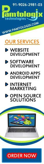 Pamtologix Technologies is a leading Website Design/Website Development/Software Development Company in Allahabad, Software Company in Allahabad, SEO/SMO Company in Allahabad, India. We Offer Website Designing, Website  Development, Software Development, Mobile Apps Development, Android App Development, SEO/SMO services  Call 9026298103 now.