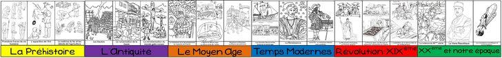 Programmation spiralaire en Histoire et frise chronologique | MA MAITRESSE DE CM1-CM2