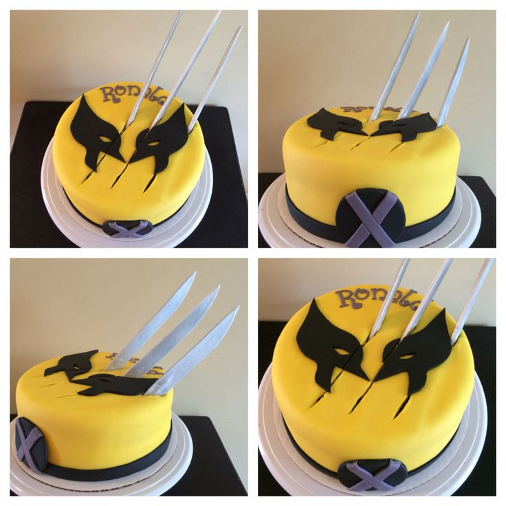 WOLVERINE CAKE                                                                                                                                                      More