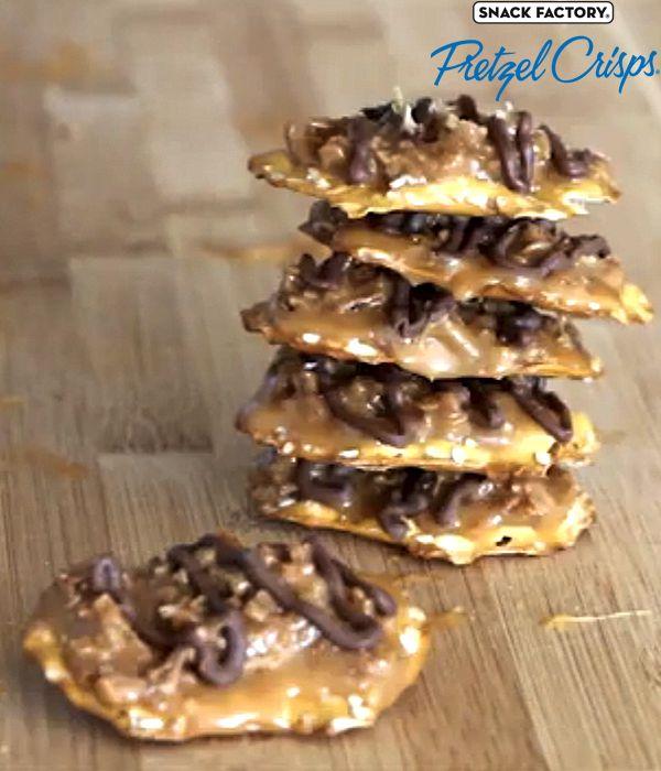 Pretzel Crisps® Coconut Caramel Cookies