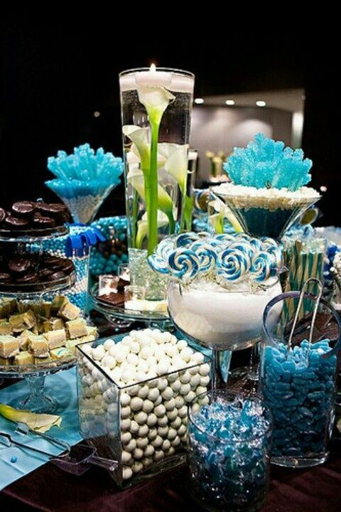 Formal Party Decorations   Blue   Formal party ideas