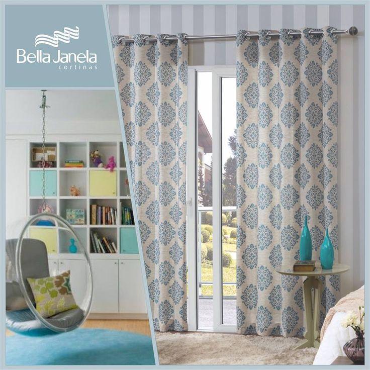 Las 25 mejores ideas sobre patrones de cortinas en for Cortinas estampadas