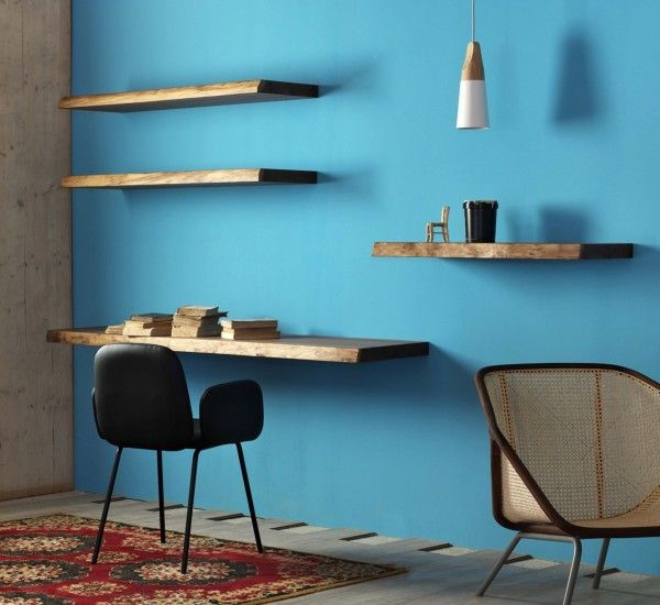 Marangon are wooden shelves of different sizes, designed by Miniforms Lab.  Marangon comes with an irregular and rustic profile: the wood creates a warm and welcoming effect.