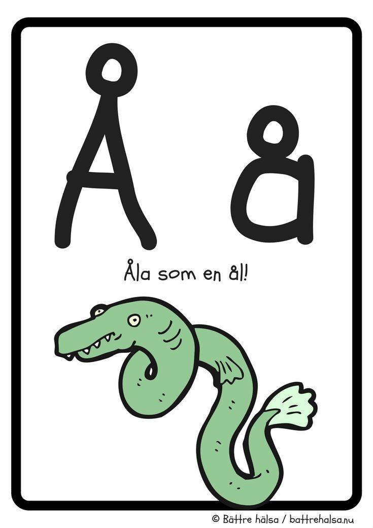 aktiviteter för barn, barnaktiviteter, pyssla och lek, knep och knåp, lära sig alfabetet, lära sig bokstaven Å, röra på sig, lekar, rörelselekar