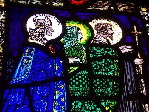 Fin de Siecle - stainedglassforever: Harry Clarke. Patron saint...
