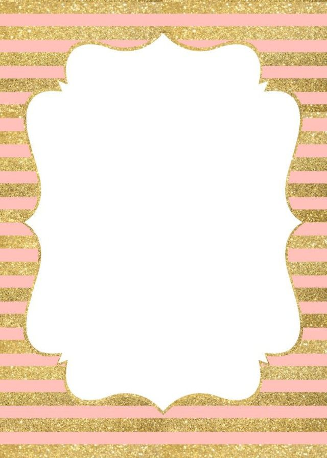 gold baby shower invitations