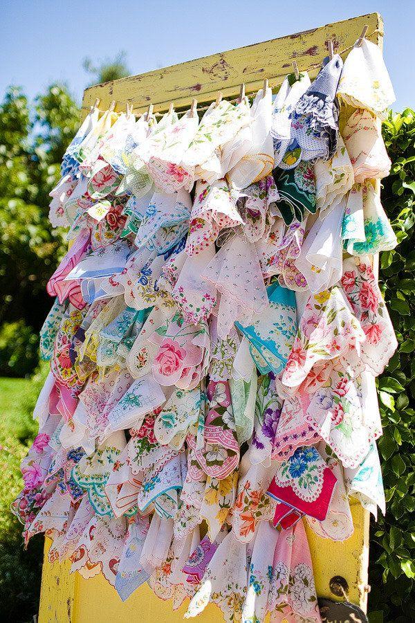 Scarf Favors!: Happy Tear, Wedding Favors, Cute Ideas, Cute Photos, Vintage Handkerchiefs, Old Doors, Photos Backdrops, Style Me Pretty, Yellow Doors