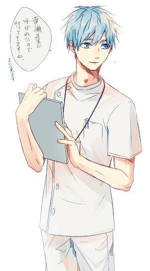 Kuroko Tetsuya doctor ♡□♡