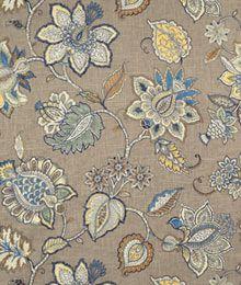 Belle Maison Celine Stone Fabric
