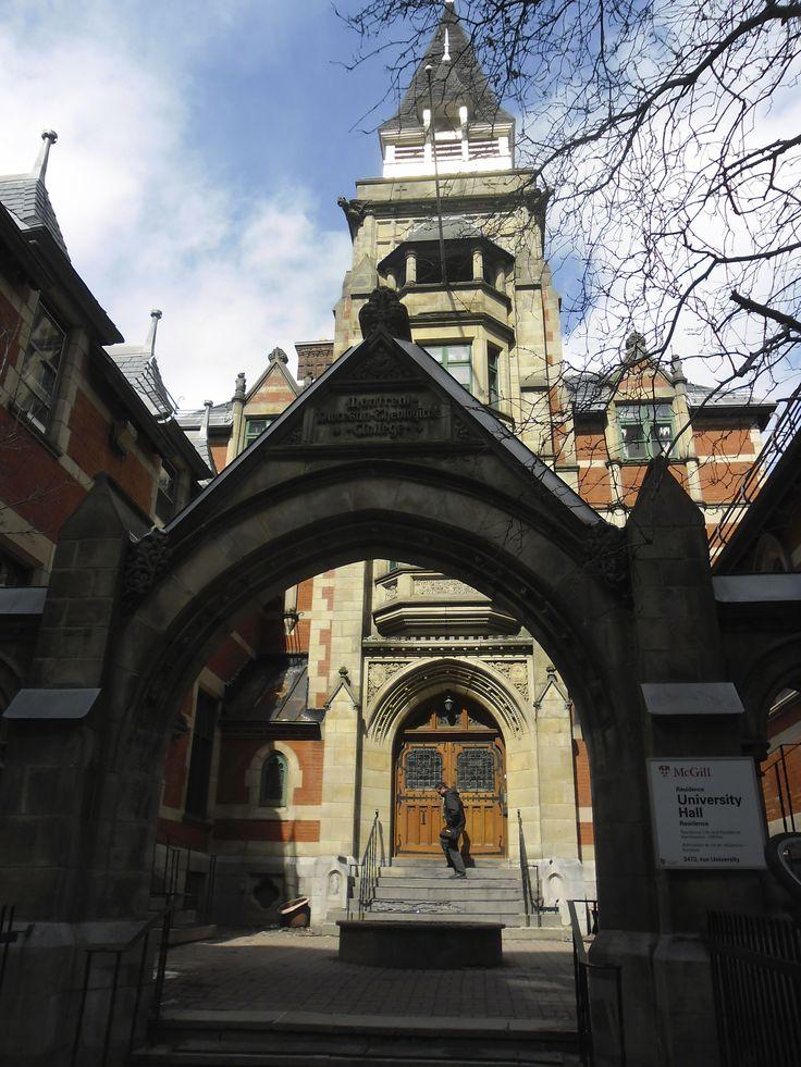 McGill University, Montréal