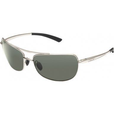 Bolle Quindaro Polar Axis oleo AF Sunglasses - Shiny Silver by Boll