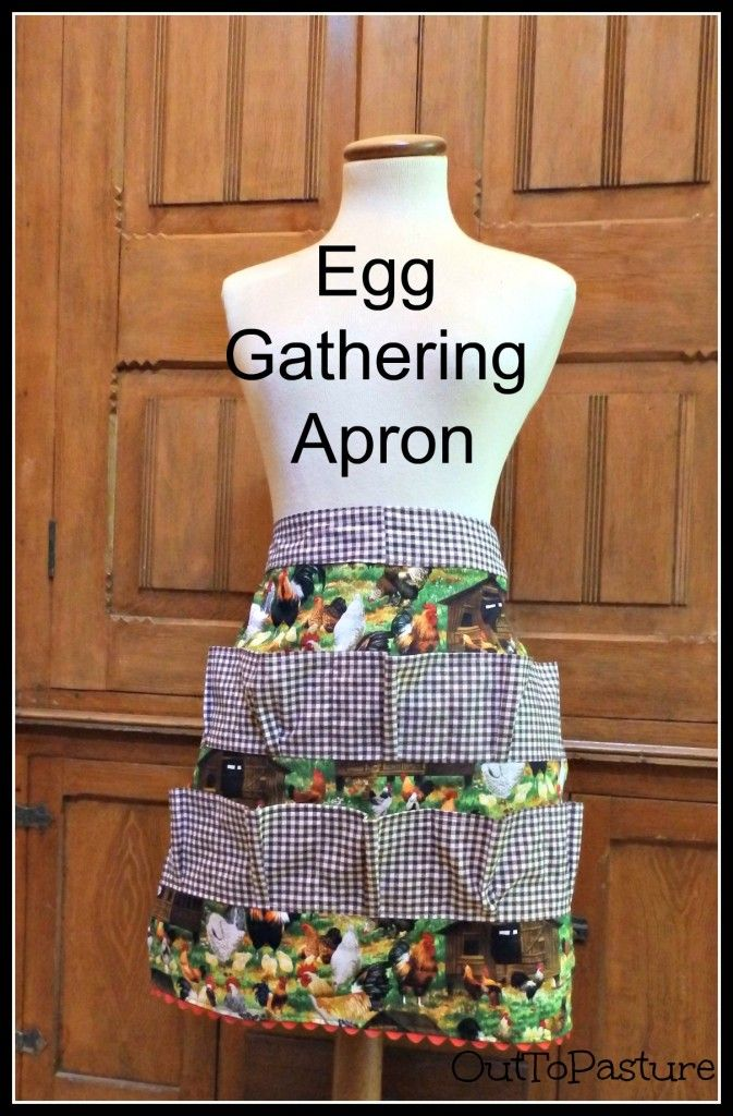 Egg Gathering Apron Aprons Sewing Aprons Apron Apron