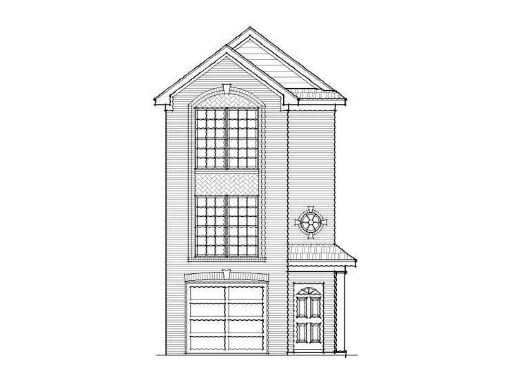 1000 images about for the home on pinterest cabin house for Narrow row house plans