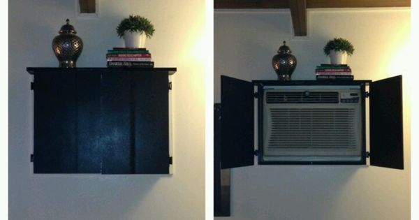 how to disguise a window air conditioner - Google Search